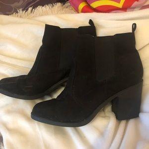H&M booties small heel